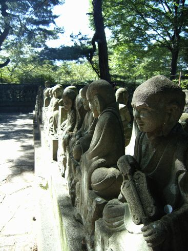 喜田院の五百羅漢